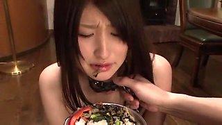 Best Japanese model Saki Kobashi in Incredible Slave, Blowjob JAV movie