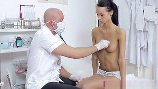 Skinny Martina B Banged By A Doctor