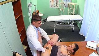 Hot nurse ass lick with cumshot