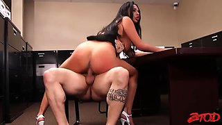 Office sex with missy