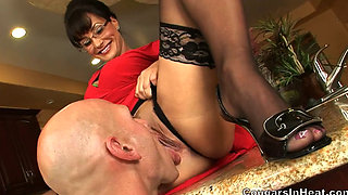 Lisa Ann  Impaled on a Hard Cock