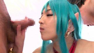 Best Japanese whore Shiori Kamisaki in Horny JAV censored Swallow, Big Tits video