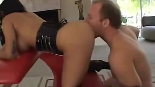 Dirty girl bound, whipped and creampied by her boss