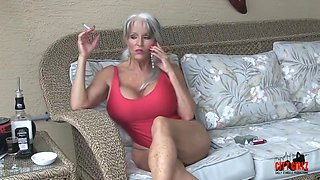 Hot Cougar Stepmom Fucks Her Young Son - Sally D'angelo