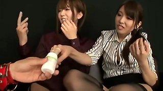 "Arimura Chika, Hatano Yui in Yui Hatano M Chika Arimura Welcome To Harlem Man Of Envy The Room ""W"