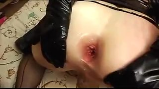 Man and Woman fucks crossdressers together 02