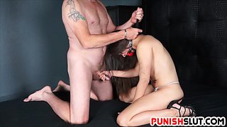 Ziggy Star is handcuffed, spanked, and disciplined