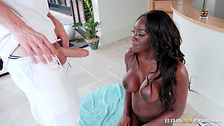 Black honey Jai James attacked by a pussy craving man