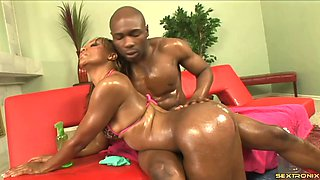 Enchanting Raven Vixen and the huge black dick of her new lover