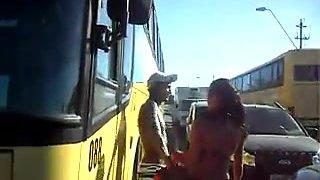 Filming a Brazilian Girl in Porto Seguro Beach.