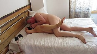 Thai BBW Big Tit MILF Fucked by British Bull Missionary,