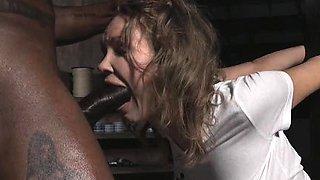 Virgin Slave Got Throat Ruined By BBC!