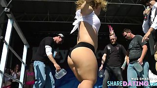 Midget Wet T-Shirt Contest -HD REPOST-