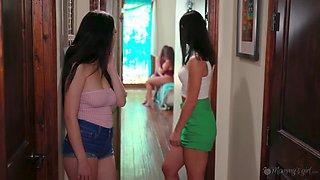 Lesbian Foursome - Preston Parker, Jade Baker And Chanel Preston