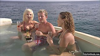 Tarra White has come to the Caribbean to have sex