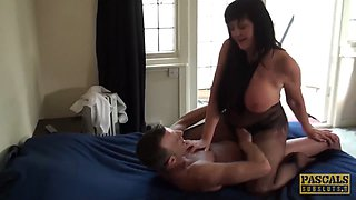 PASCALSSUBSLUTS - Busty Jessie Jo destroyed with dom cock