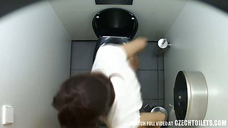 First Hidden Cam in Toilets Worldwide