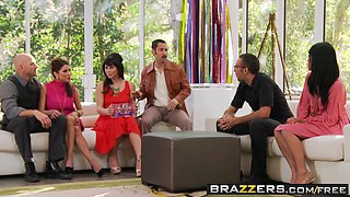 Brazzers Main Channel - Aleksa Nicole Brooklyn Lee Johnny Sins Keiran Lee - Key Party-
