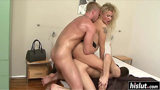 angel diamonds catches her bi husband