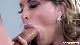 Big Tits at Work: I'm the Boss Now, Bitch. Holly Halston, Clover