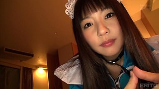 japanese maid does lot more than she was asked for
