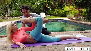 Hot Foot Worshiping Yoga Class