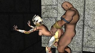 Knight Takes Pawn - Horny 3D anime sex collection