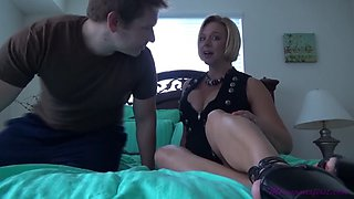 Brianna beach mother and son make father a cuckold