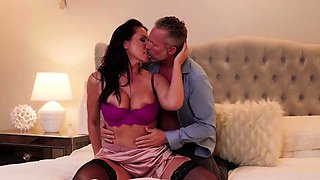 Busty Wife Banged by Husbands Best Friend Before Party