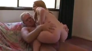 Sexy Young Midget Blowjob And Sex With Old Dude
