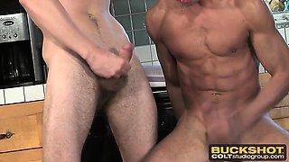 Buckshot boys squirt their best loads in a cum compilation