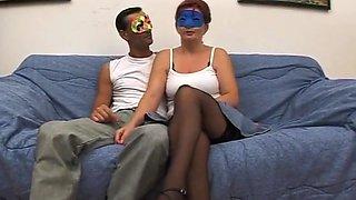 Masked Italian Amateurs Get It On