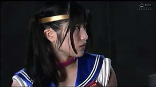 Sweet Japanese teen in uniform gets used by a horny monster