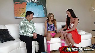 Babysittered - We Caught our Babysitter Touching Herself