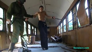 Rail car whip