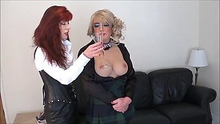 Madame C despairs with Angelique
