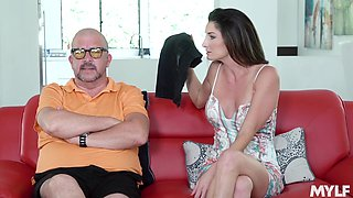 Cheating wife Silvia Saige wants to be fucked by a handsome stud