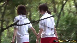 asian lesbian fingered japanese hard 1