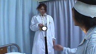 Nurse Runa Tominaga fucks a patient in hospital