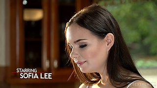 Young kept woman Sofia Lee knows how to make her sugar daddy fully satisfied