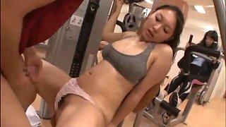 Japanese gym fitness centre