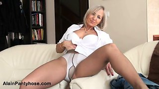 Ajx alain.milf in jean and pantyhose
