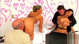 Couples Swapping DP Foursome