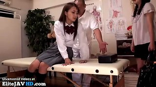 japanese schoolgirl massage goes too far